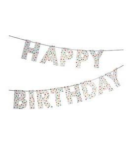 GUIRNALDA HAPPPY BIRTHDAY