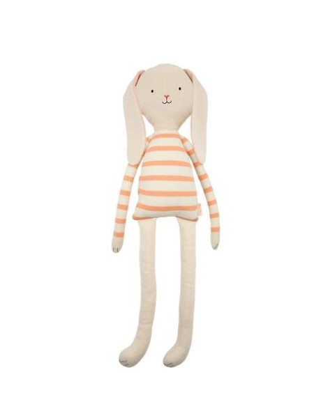 PELUCHE LARGE KNIT BUNNY
