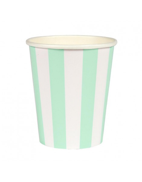VASO MINT STRIPED