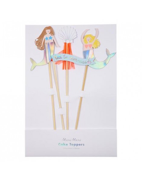 CAKE TOPPERS LETS BE MERMAIDS