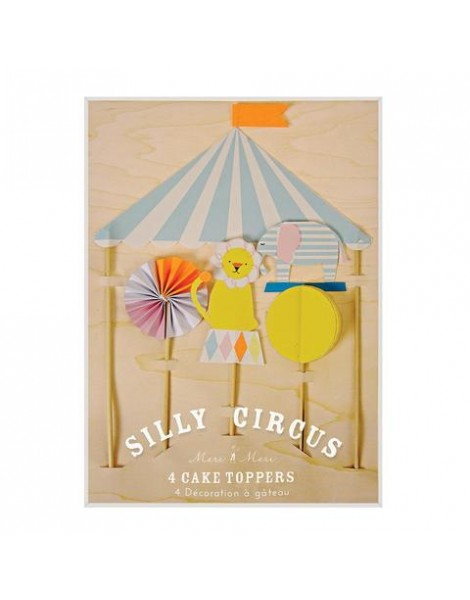 CAKE TOPPERS CIRCUS