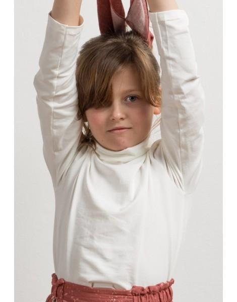 Camiseta Blanca Cuello Alto