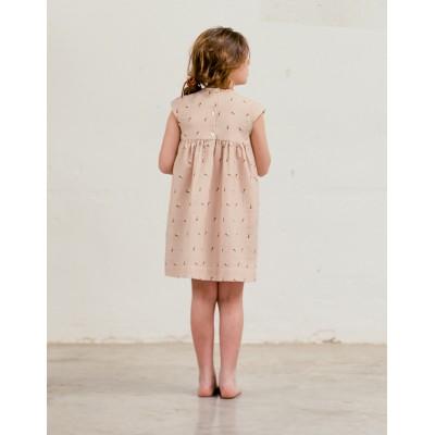 Vestido Sumida Fiore Rosa espalda