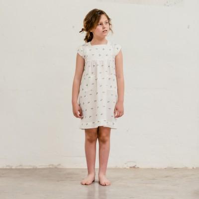 Vestido Sumida Fiore Blanco