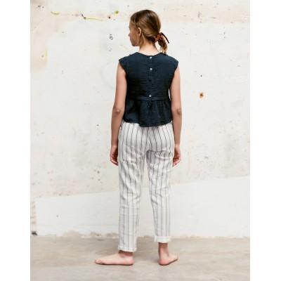 Blusa Sumida Bolillo forja espalda