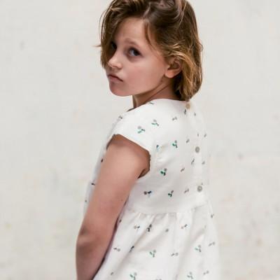 Blusa Sumida Fiore Blanca