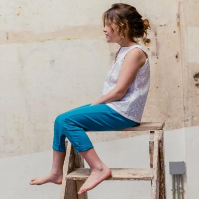 pantalón Natori azul unisex