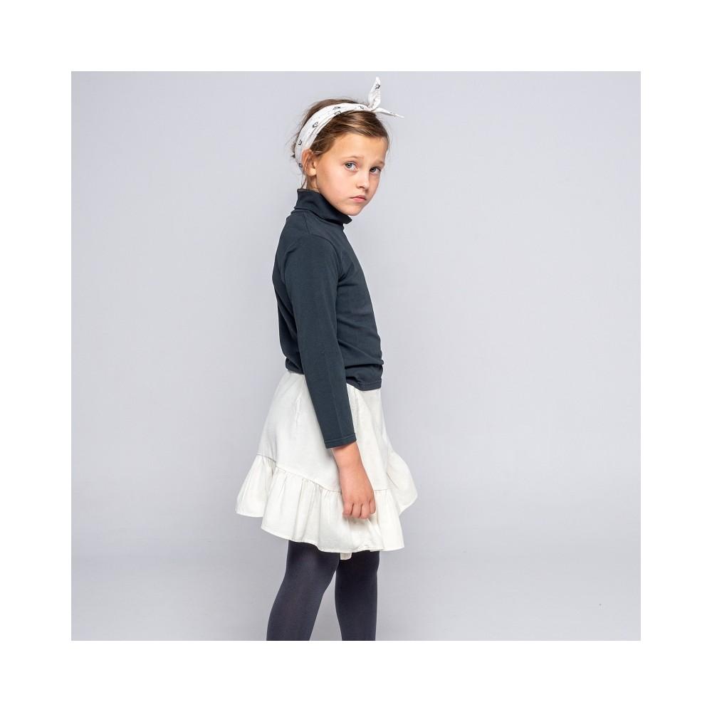 falda wood volante piedra niña