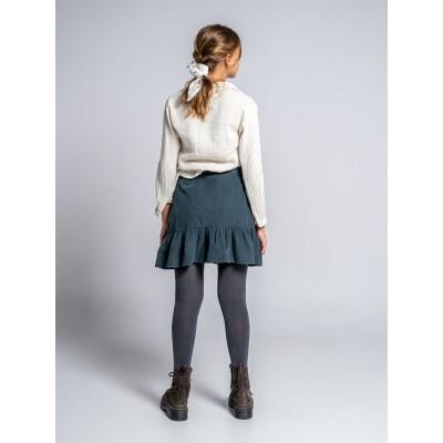 falda wood niña forja pana pequeña
