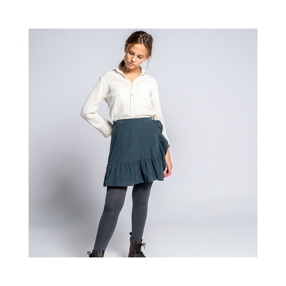 falda wood niña forja micropana