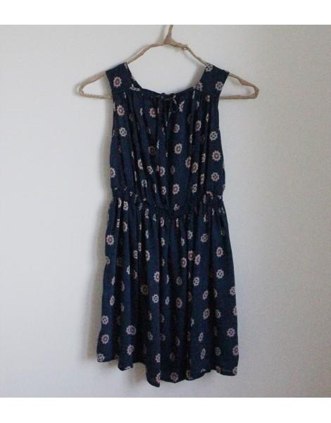 Vestido Heleno Azul