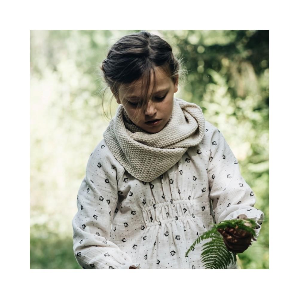 Blusa florecitas niña algodón