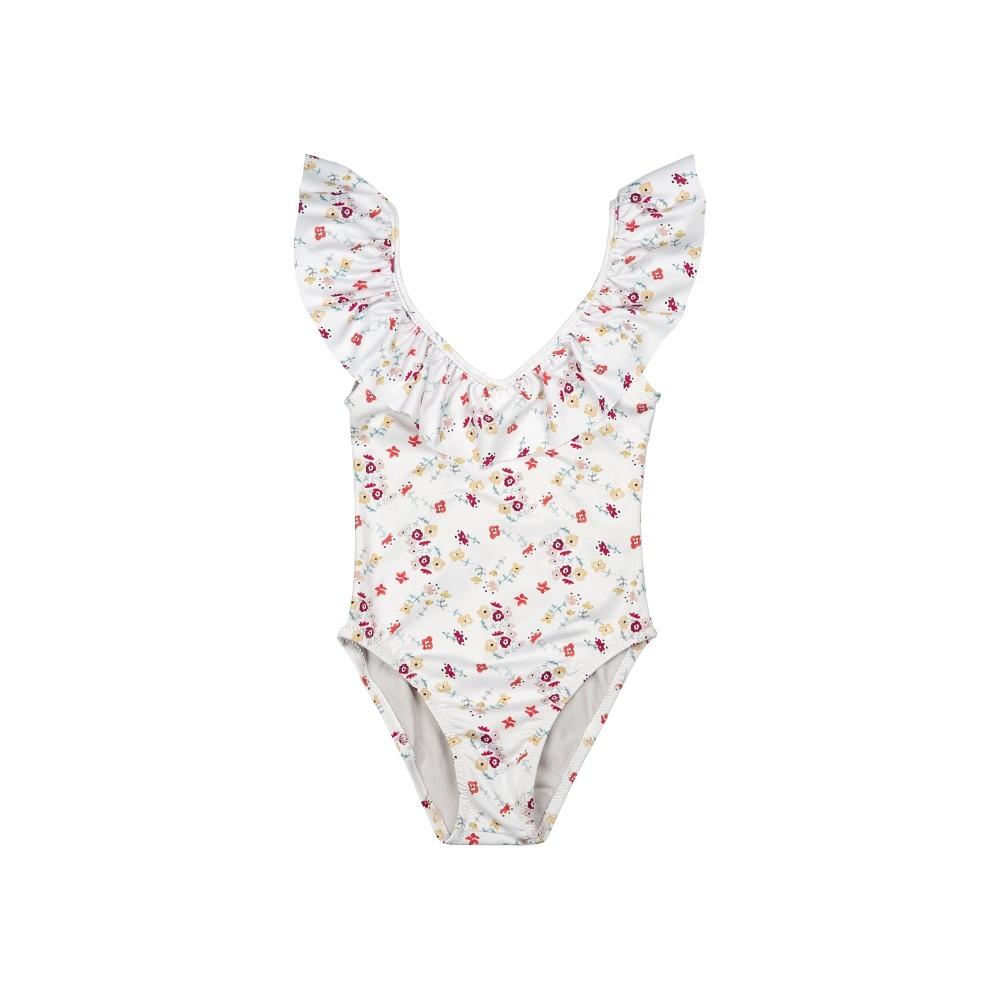 Bañador traje de baño niña florecitas liberty ideal