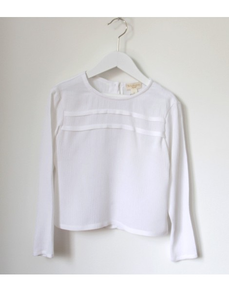 Camisa Jaretas Blanca Delantero