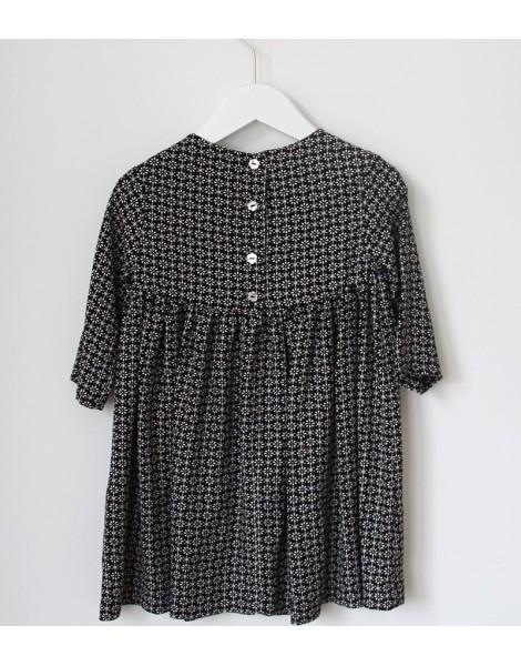 Vestido Amish espalda