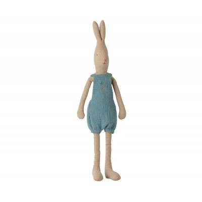Conejito con peto bordado tamaño 3 maileg Bunny