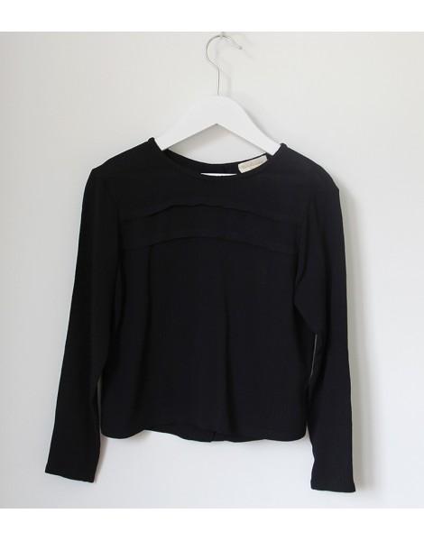 Camisa Jaretas Negra delantero
