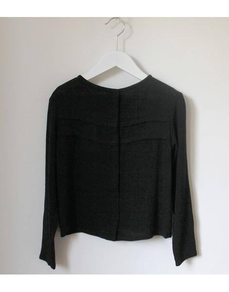 Camisa Jaretas Negra espalda