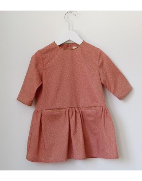 Vestido Rosa Oro 1