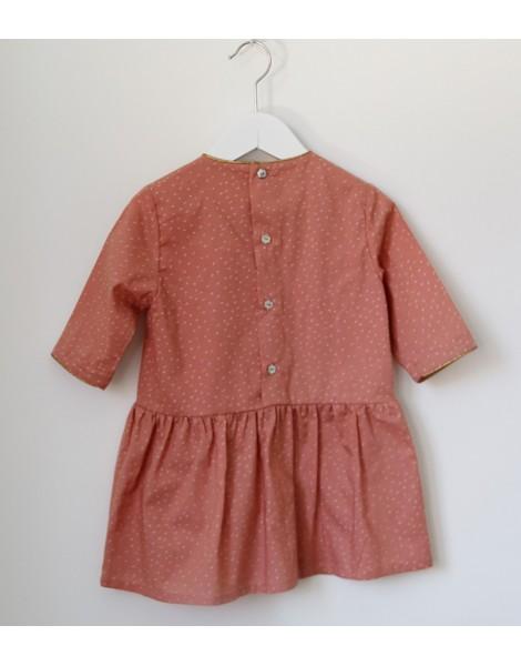 Vestido Rosa Oro 2