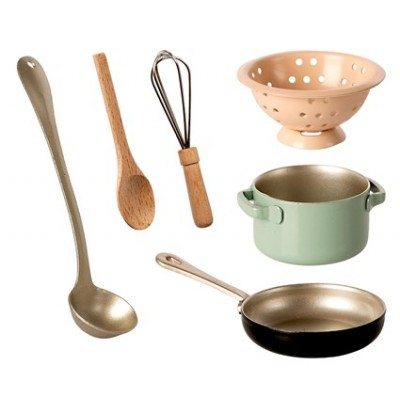 CACHARROS PARA LACOCINA MAILEG cooking set