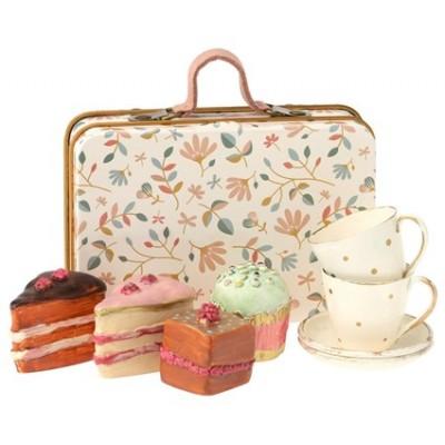 juego de merienda cake set