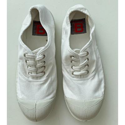 tenis lacets blancas bensimon