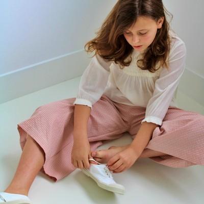 pantalon niña vichy ideal