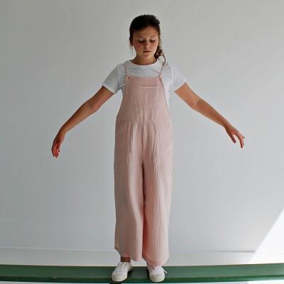 Peto niña rosa bambula algodón