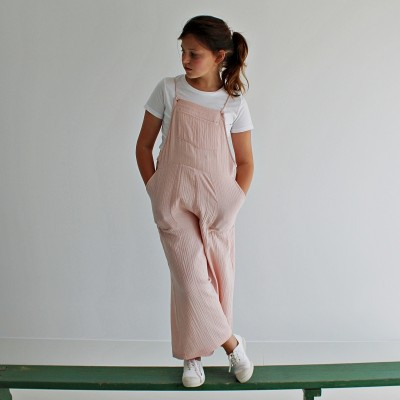 Peto niña en bambula ideal rosa