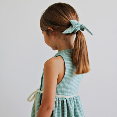 Coletero a juego con vestido niña