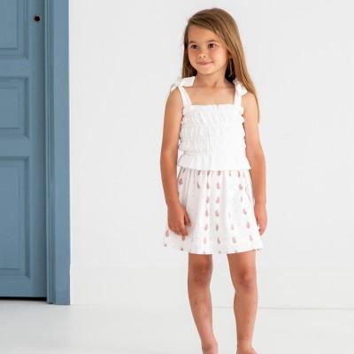 falda niña cachemir