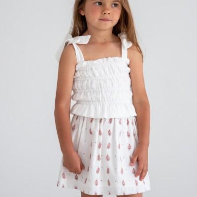 falda corta niña cachemir