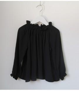 Blusa Chimenea Negra