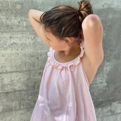 Camiseta niña volante tenderine