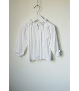Blusa Chimenea Blanca