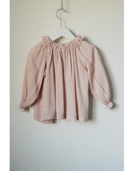 Blusa Chimenea Rosa Espalda