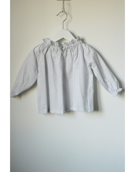 Blusa Chimenea Plata espalda