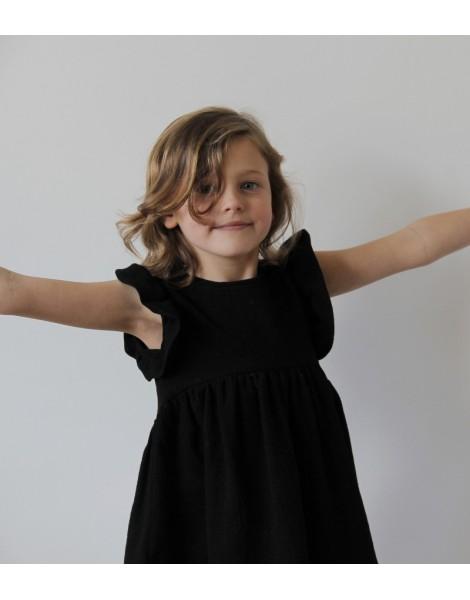Niña 2 Vestido Campanita Negro