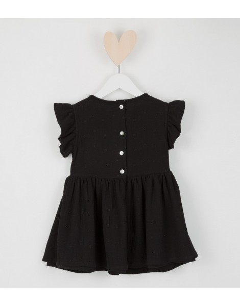 Vestido Campanita Negro espalda