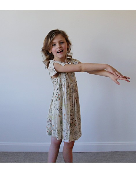 Vestido Primavera niña pequeña