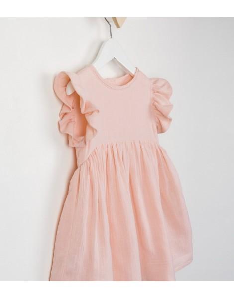 Vestido Campanita Rosa Detalle