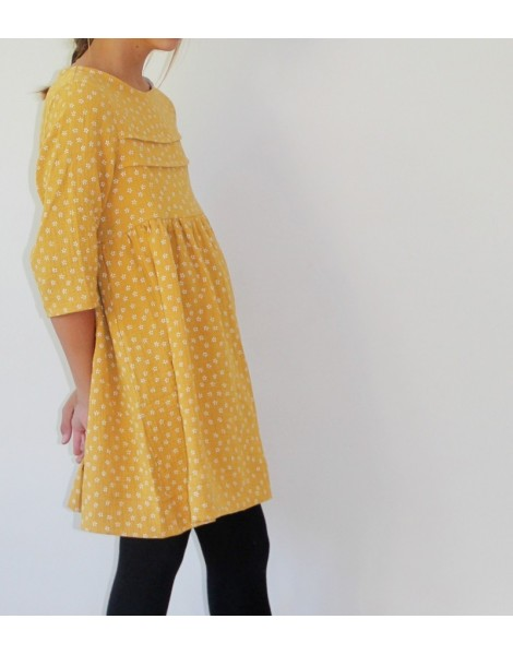 Niña con vestido Giverny
