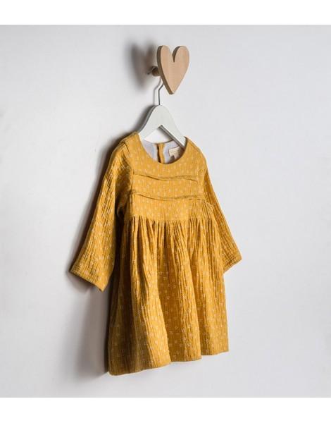 Vestido Giverny detalle