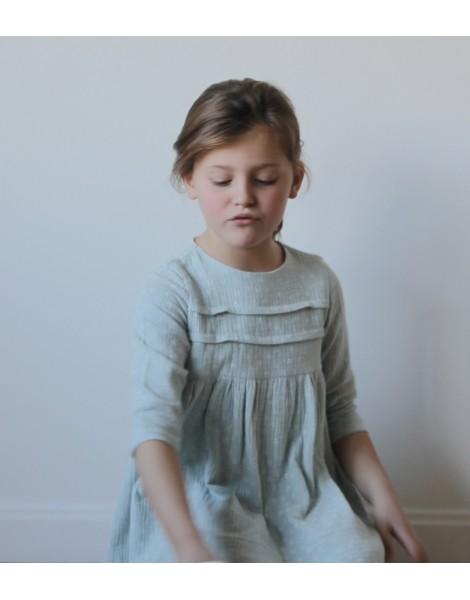 Vestido Reims niña sentada