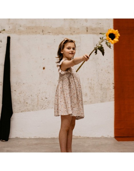 Vestido de niña florecitas