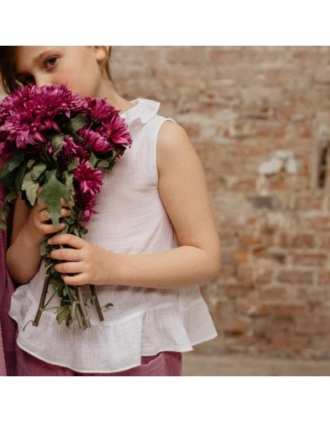 Blusa Bartmun para niña