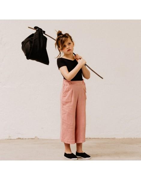 Pantalon rosa niña ancho