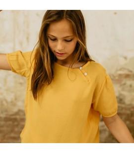 Blusa Chinesse Yellow Pista
