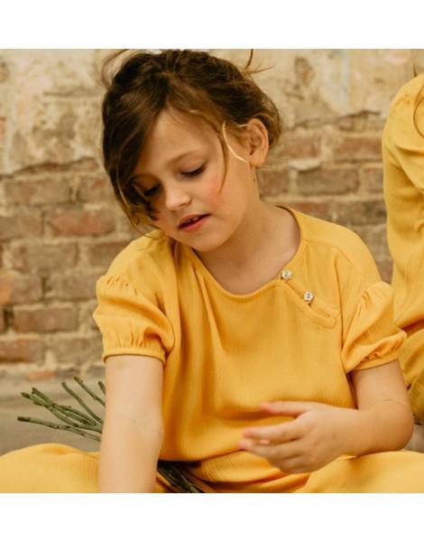 Blusa Chinesse Yellow Pista delante